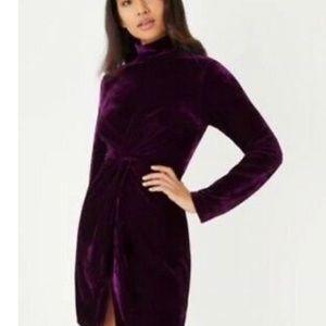Fashion union from ASOS petite velvet dress